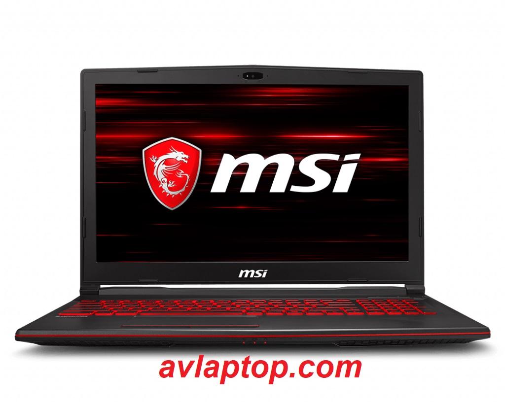 Laptop MSI GL63 8RD chip 12 luồng render i7 8750H | Shop AVLAPTOP: Laptop  Gaming Đồ Họa Business Mua bán trao đổi tại Hà Nội